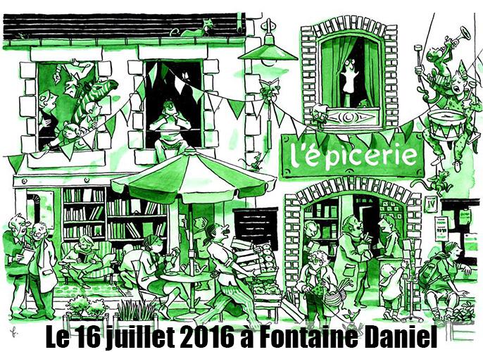 Etape de Montflours à Fontaine Daniel