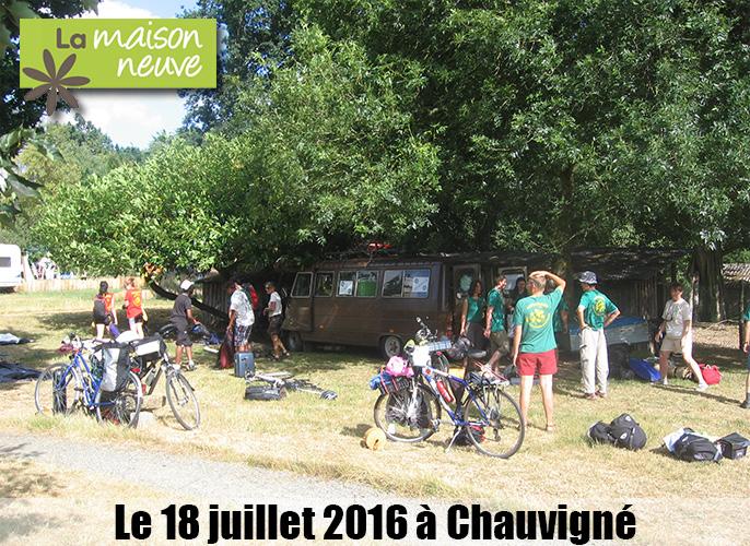 Etape de Laignelet à Chauvigné