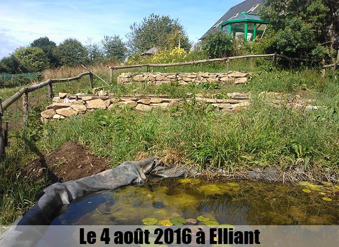 Etape de Quéménéven à Elliant