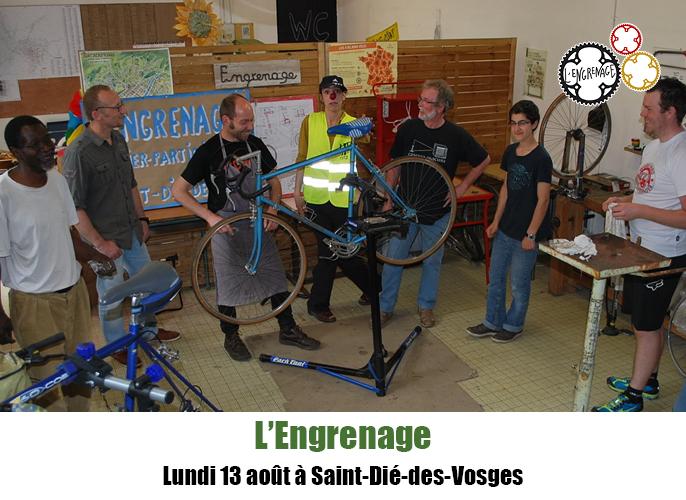 Etape de Saint-Dié-des-Vosges à