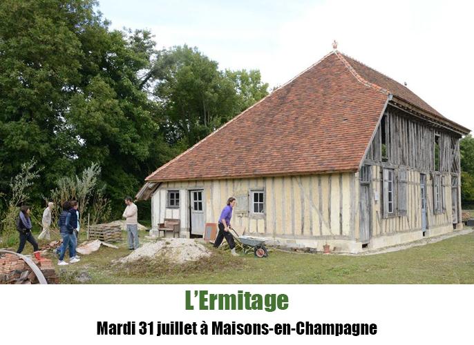 Etape de Haussimont à Maisons-en-Champagne