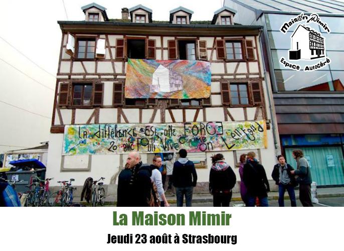 Etape de Muttersholtz à Strasbourg