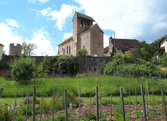 Etape de St-Amand-de-Belvès à Salvezou