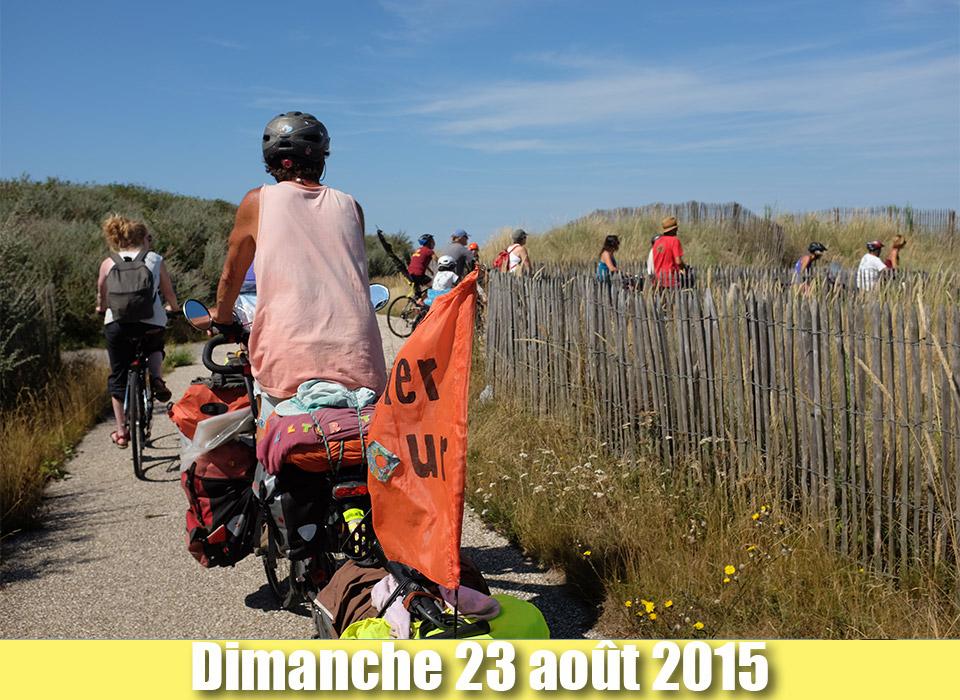 Etape de Sangatte à Calais