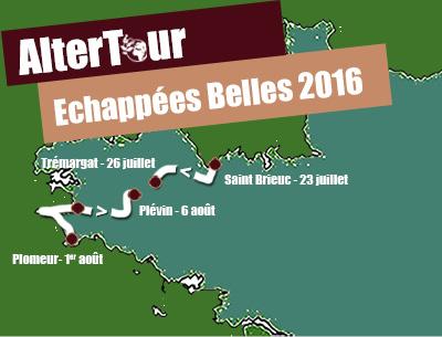 Parcours 2016 Echappée Belle