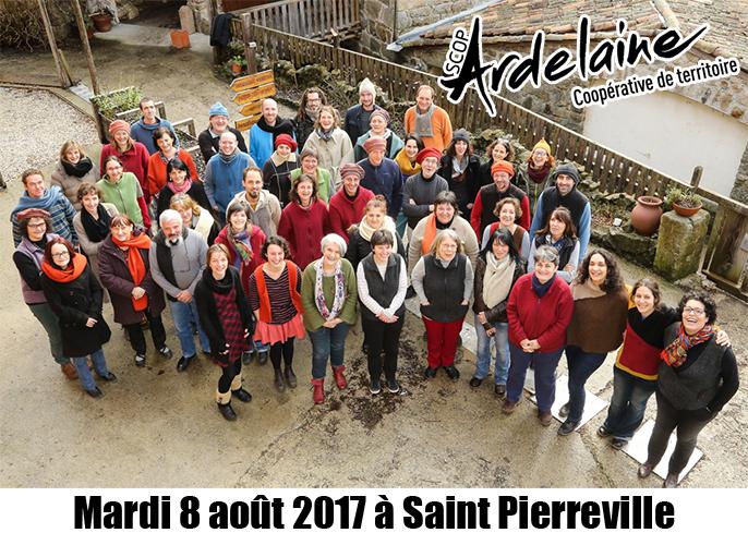 Etape de Saint Pierreville à