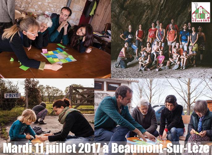Etape de Montaigut sur save à Beaumont-Sur-Lèze