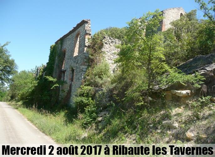 Etape de St Jean du Gard à Ribaute-les-tavernes